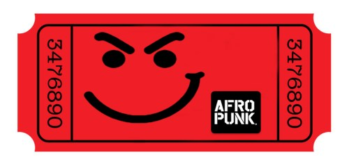 AFROPUNK TICKET RED | www.imjussayin.com