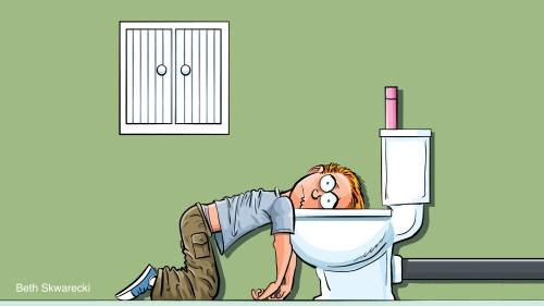 AFROPUNK leaning on the toilet | www.imjussayin.com