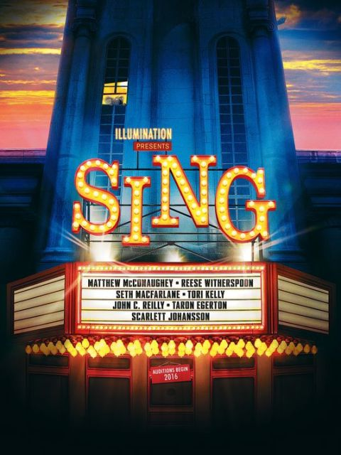 Movies for Christmas Sing poster | www.imjussayin.com