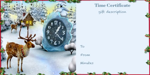 precious gift time, reindeer | www.imjussayin.com