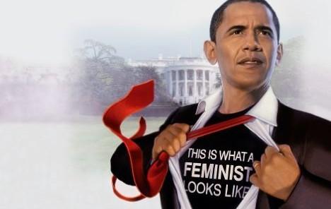 President Obama the Feminist | www.imjussayin.com