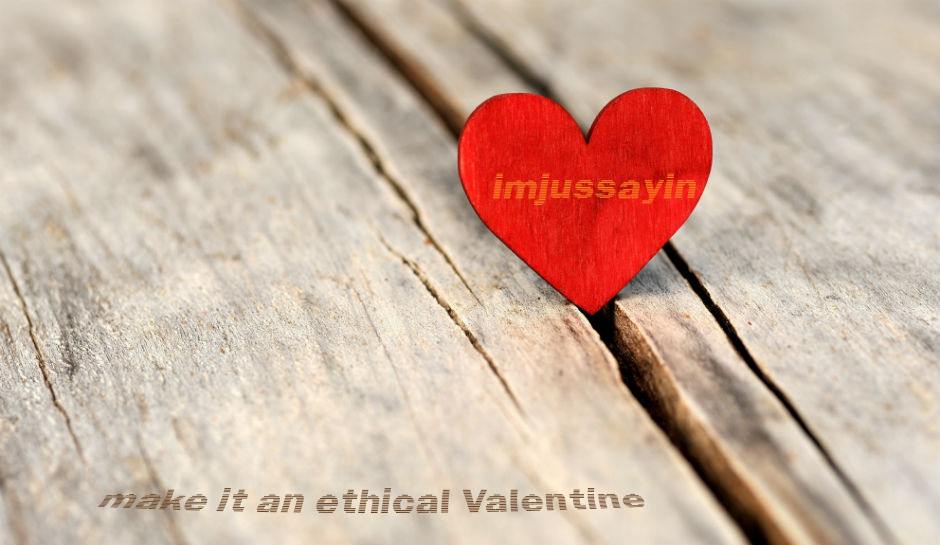 red heart sitting in split wood | www.imjussayin.com