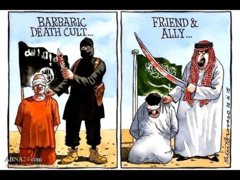 terrorism condemning ISIS but Praising Saudi Arabia | www.imjussayin.com