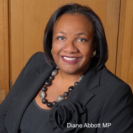 black woman MP Diane Abbott