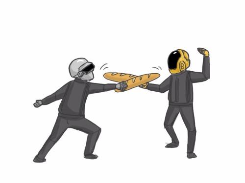 bread wars baguettes drawn   www.imjussayin.com