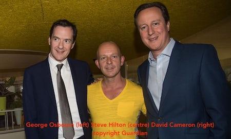 nepotism david cameron george osbourne and friend Steve Hilton | www.imjussayin.com