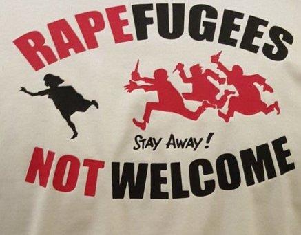 race and rape British rapefugees badge   www.imjussayin.com