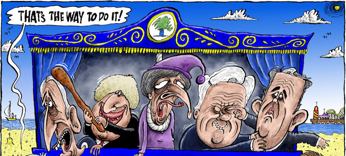 Rogues and Reprobates May's Cabinet in Punch and Judy | www.imjussayin.com copy