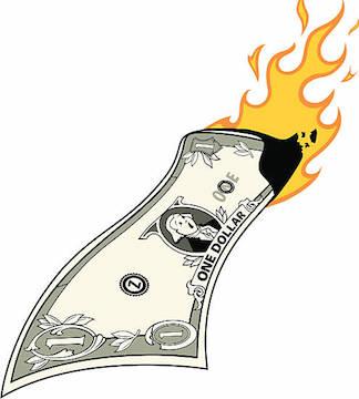 Britain knows best burning money   www.imjussayin.com