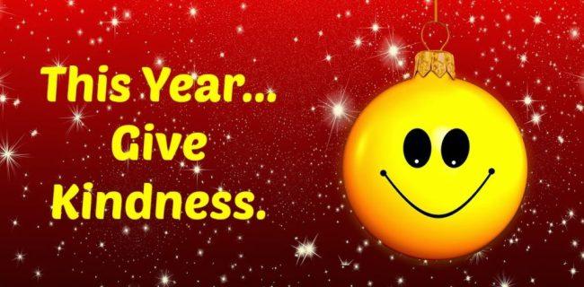 Kindness Christmas 2017 | www.imjussayin.com
