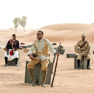 WHAT'S ON Mimesis/ African Soldier 1 | imjussayin.com/whatson