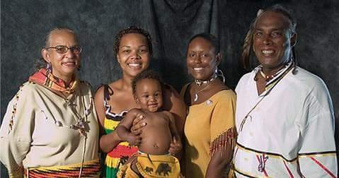 Indigenous Aboriginal American Family