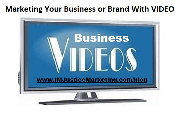 business videos to market your business or brand