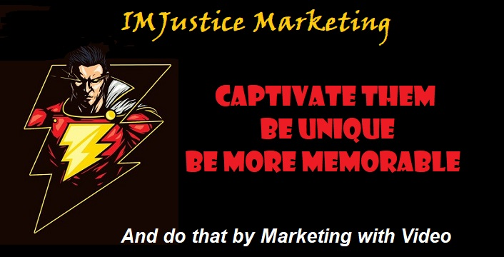 video marketing with captain marvel and IMJustice Marketing