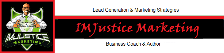 Dave Smith and IMJustice Marketing signature red
