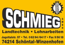 Schmieg, Winzenhofen