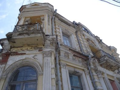 Beautiful, but derelict old buildings
