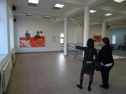 Inside the Artsvit gallery