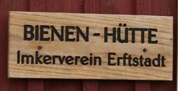 Schild Bienenhütte