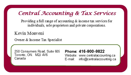 Central Accounting & Tax Services