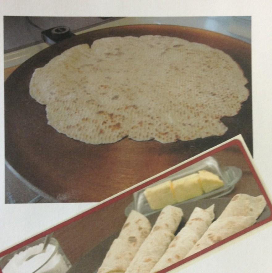 baked goods- lefse