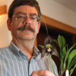 Ray & his Dracula orchid