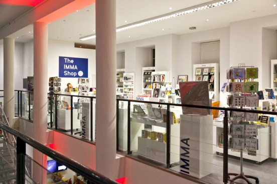 The new IMMA Shop on the First Floor of the main Gallery Building, above reception.