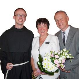 Vděčnost za kněžství syna