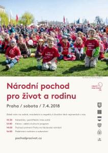 Národní pochod pro život a rodinu 2018