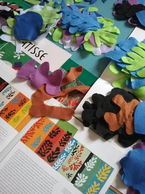 Saremo presenti alla Città dei Bambini con il lab Atelier Matisse