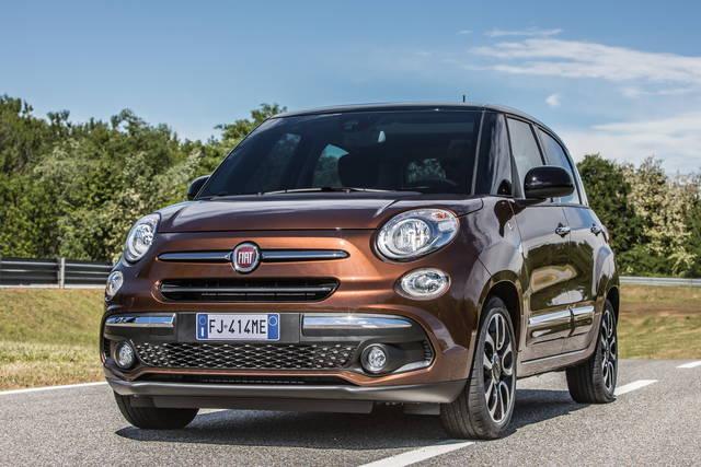 Fiat 500L: nuova faccia e più tecnologia