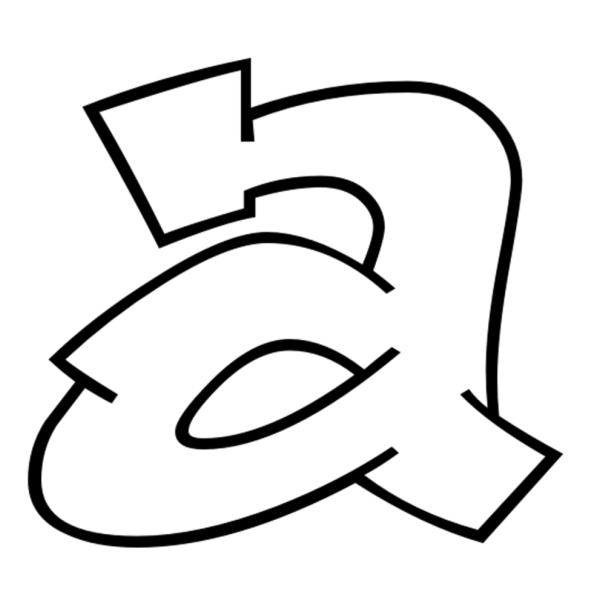 wildstyle graffiti alphabet letter m