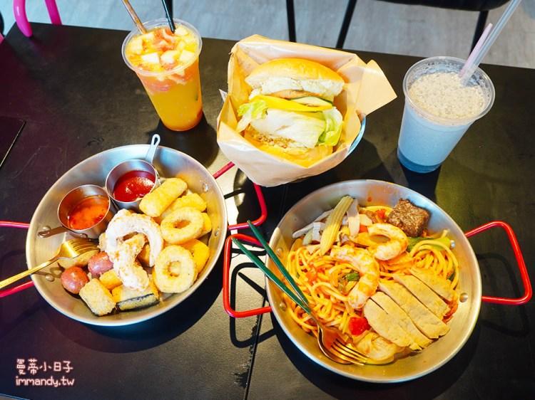 小巨蛋早午餐 讓我想享 早、午、晚餐 | 小巨蛋站美式蔬食餐廳,素食早午餐推薦蛋沙拉漢堡/ 韓式拌麵!
