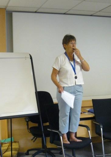 02 Sue gets proceedings under way.