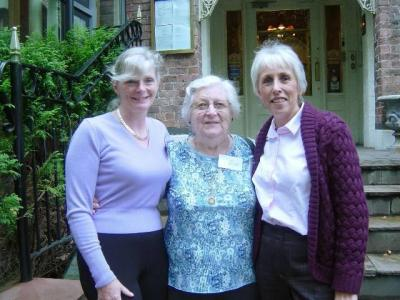 22 Julie '78 Joyce '45 and Fiona '78 - oldest and youngest members at the Reunion