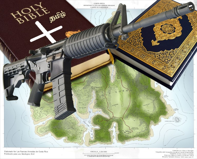 Bibles, Qurans, and AR-15s, Oh My! Part One