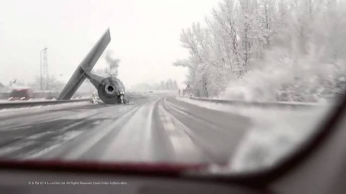 Be Careful Travelling in the Snow