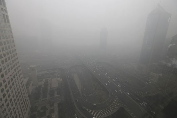 Air in Beijing an Effective Industrial Solvent