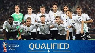 teamfoto voor Germany