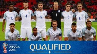 teamfoto voor England