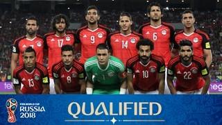 teamfoto voor Egypt