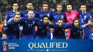teamfoto voor Croatia