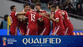 teamfoto voor Russia