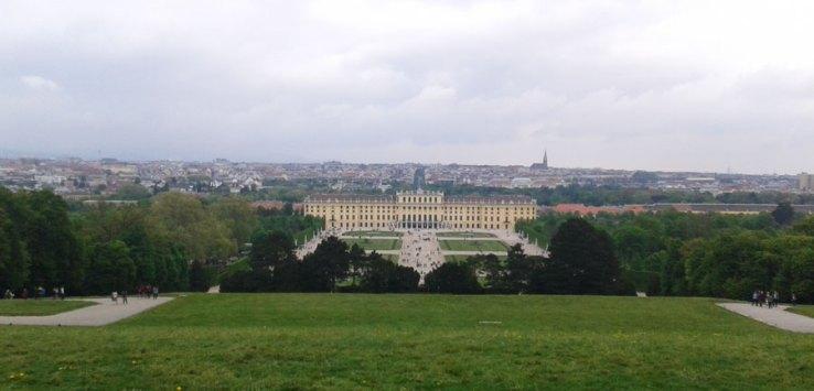 castle Schoenbrunn in Vienna
