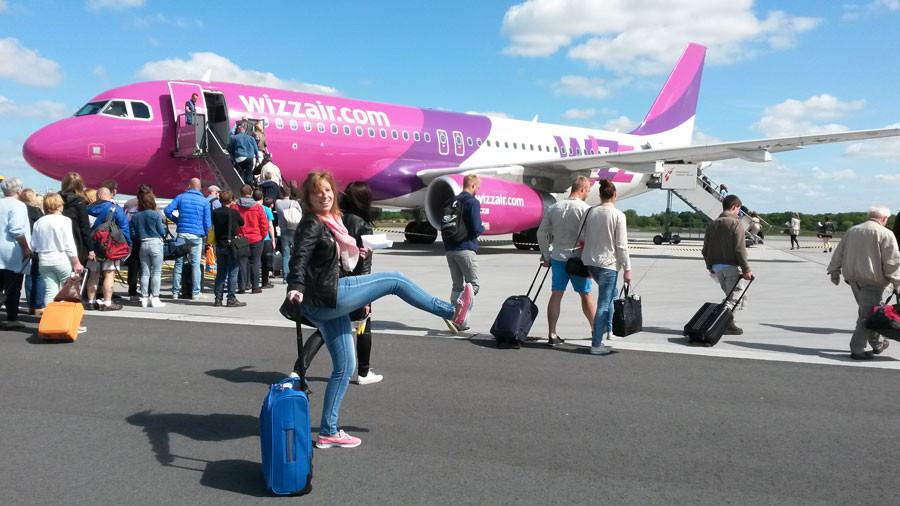 Urlaubsvorbereitung - Wizzair Flug nach Gdansk