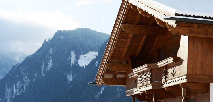 Winterurlaub in Österreich - Almhütte als Unterkunft