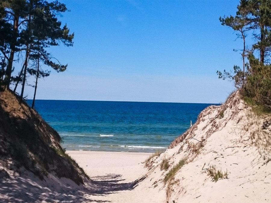 Urlaubsvorbereitung - Strandbild
