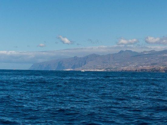 Teneriffa Urlaub - Los Gigantes vom Wasser aus