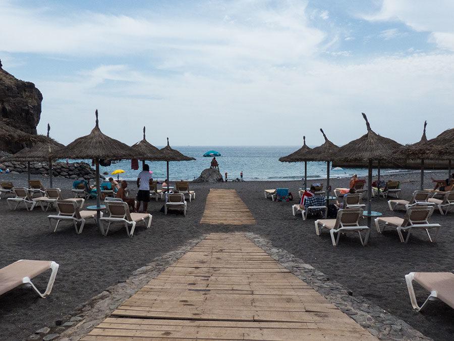Teneriffa Urlaub - Strandbild