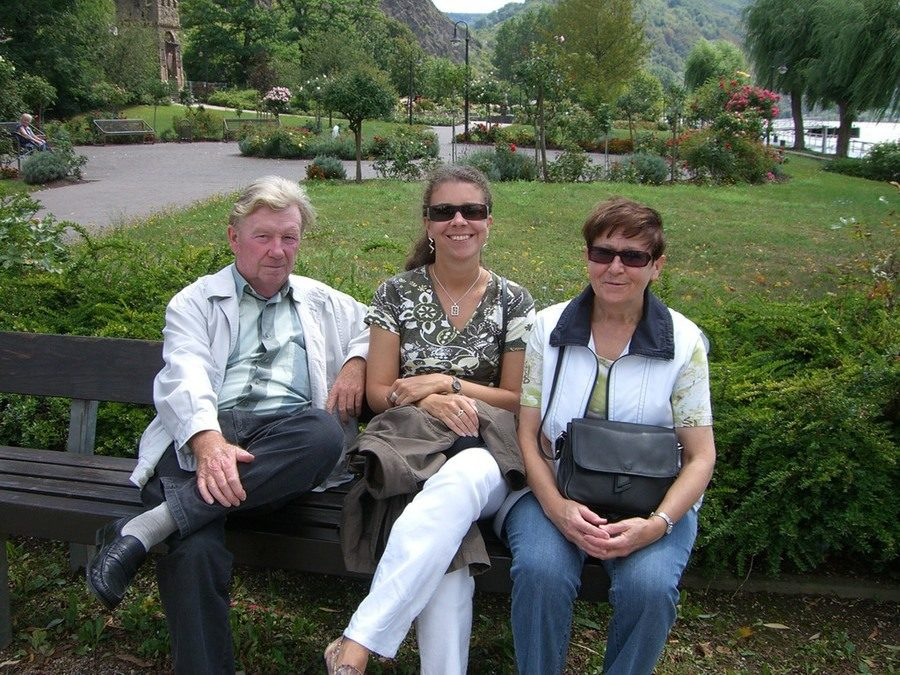Martina fährt mit ihren Eltern am liebsten in die Berge